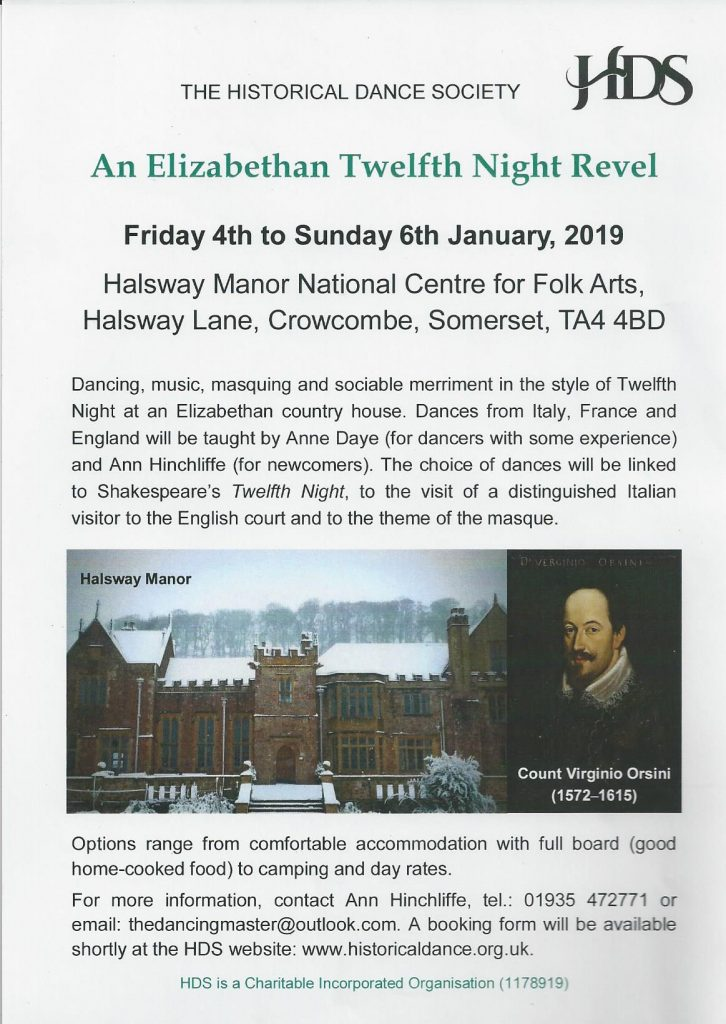 Elizabethan Twelfth Night Revels