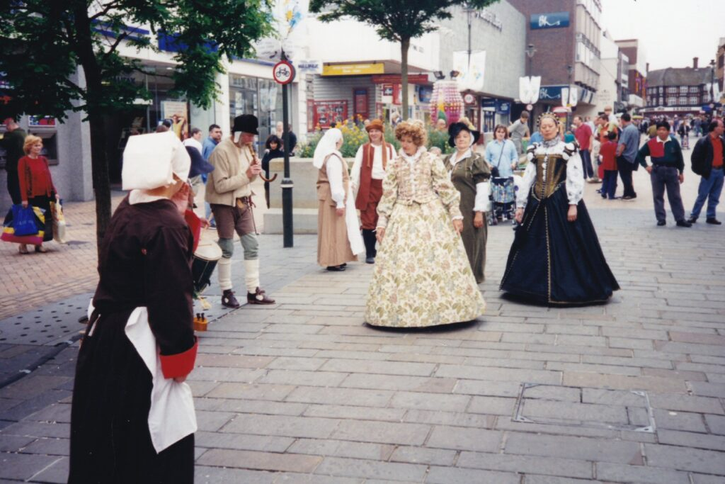 Dancing in Bromley High Street
